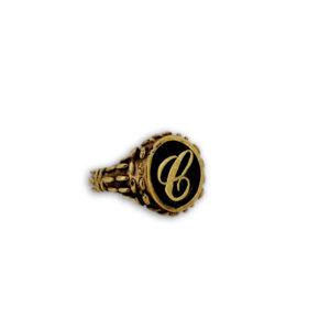 anello tondo mandorlato iniziale
