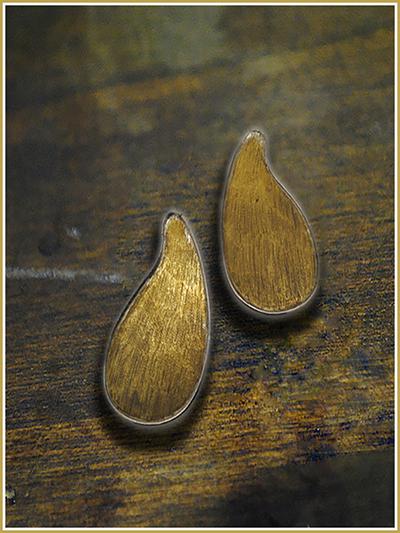 orecchini bimetal mattana design