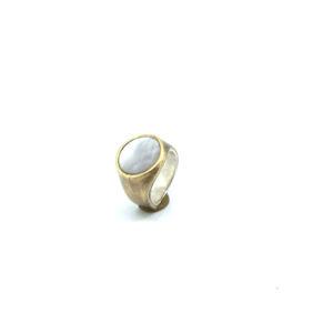mattana design chevalet bronzo anello tondo