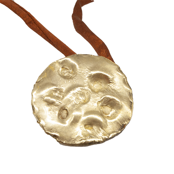 mattana design pendente luna bronzo